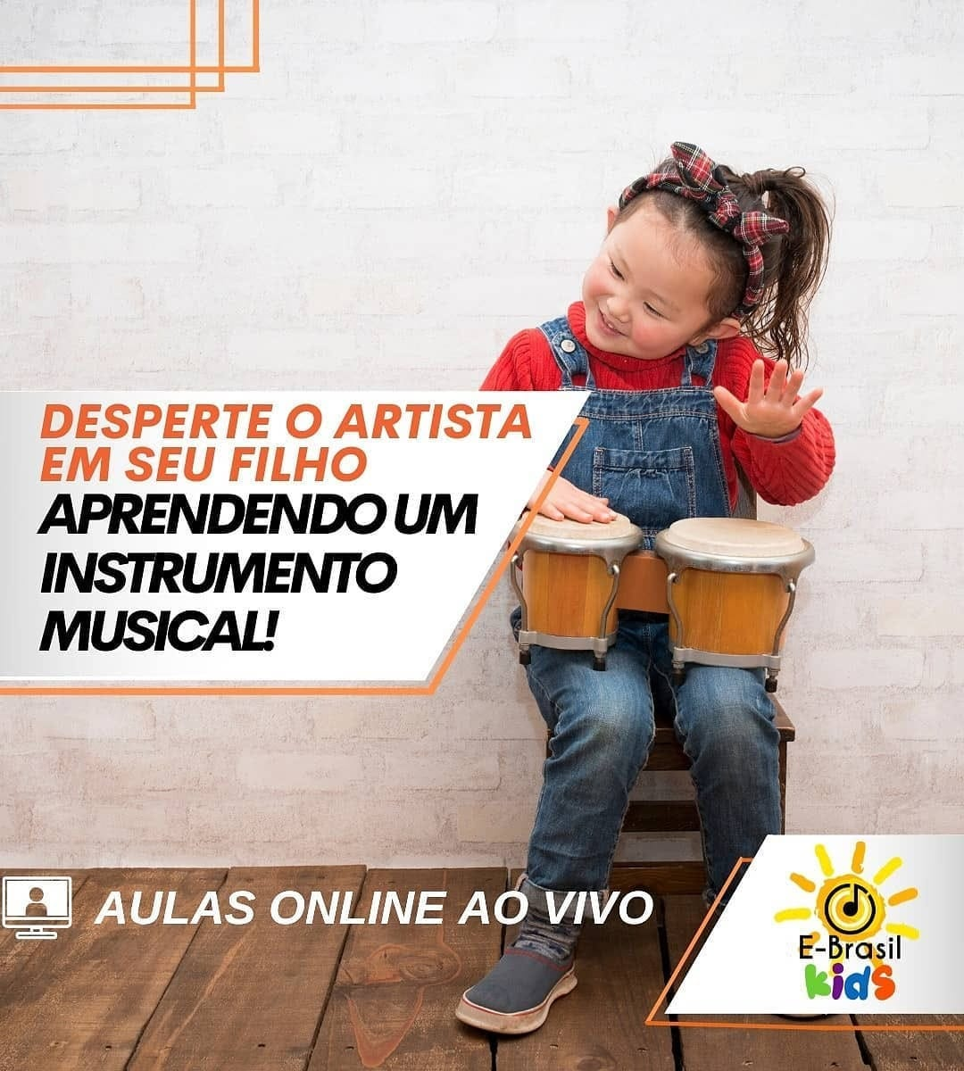 E-Brasil Escola de Música - Aulas Online ou Presencial
